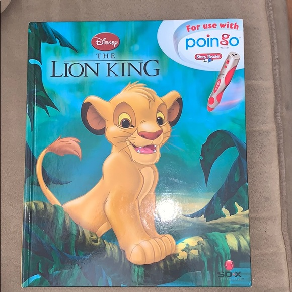 Disney The Lion King Poingo Interactive book